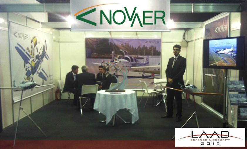 Novaer both at Laad 2015