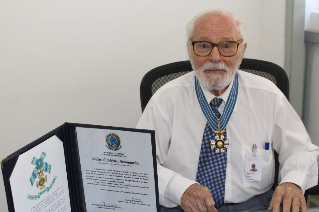 FAB delivers title of Commendator to Joseph Kovacs